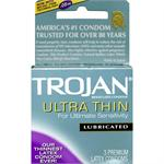 TROJAN ULTRA THIN LUBRICATED 3 PACK